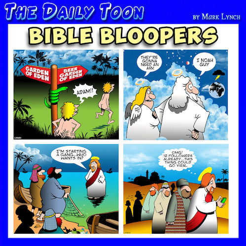 Cartoon: Bible stories (medium) by toons tagged scriptures,scriptures