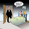 Cartoon: A Woman! (small) by toons tagged gay,infidelity,marriage