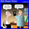 Cartoon: Afterlife (small) by toons tagged life,after,death,atheist,xray