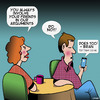 Cartoon: Argument (small) by toons tagged couple,arguing,texting,lies,smartphone
