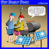 Cartoon: Barbecue (small) by toons tagged alternative,energy,bbq,renewable,solar,panels,wind,turbine,cooking,crisis