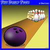 Cartoon: Bowling ball (small) by toons tagged restraining,order,bowling