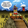 Cartoon: Brazilian (small) by toons tagged human,sacrafice,brazilian,incas,aztecs,indian,tribes,south,america