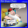 Cartoon: Corona (small) by toons tagged self,isolation,quarantine,beer,covid,19,coronavirus,corona