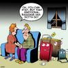 Cartoon: Emotional baggage (small) by toons tagged emotional,baggage,feelings,relationships,luggage,suitcases