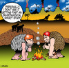 Cartoon: environmental impact study (small) by toons tagged environment environmental impact study invention of fire prehistoric caveman work safety smoke inventions monkeys bronze age