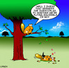 Cartoon: Flying squirrels (small) by toons tagged squirrels,flying,animals,crash,rodents,talent,wildlife,airborne