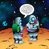 Cartoon: Forgot where I parked (small) by toons tagged astronauts,senior,moments,space,exploration,parking,nasa