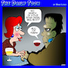 Cartoon: Frankenstein (small) by toons tagged star,sign,frankenstein,astrology