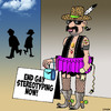 Cartoon: Gay stereotypes (small) by toons tagged gays,stereotype,protest,costumes,tu