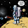 Cartoon: I should have tipped (small) by toons tagged astronaut,the,universe,space,travel,tipping,nasa,discovery