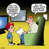 Cartoon: Imaginary friends (small) by toons tagged facebook,social,networking,youtube,imaginary,friends,media