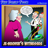 Cartoon: Jehovah witness (small) by toons tagged vacuum,cleaners,jehovahs,witnesses,door,to,salesman,religion
