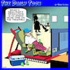 Cartoon: Lazy boy (small) by toons tagged resolutions,treadmill,gym,getting,fit