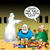Cartoon: Lots wife (small) by toons tagged lots,wife,old,testament,sodom,god,bible,food