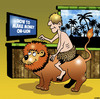 Cartoon: Make money online (small) by toons tagged online,shopping,make,money,lions,african,lion,internet,google