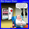Cartoon: Medicine cabinet (small) by toons tagged quarantine,covid,19,coronavirus,wine,drinking,man,cave,alcoholic