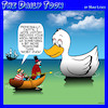 Cartoon: Moby Dick (small) by toons tagged moby,dick,ducks,arch,nemesis,whaling,whales,novels