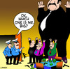 Cartoon: Mr Big (small) by toons tagged crime,criminals,police,robbery,mr,big,banks,organized,jail,guns,burglar,stealing,gangs