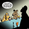 Cartoon: Neutered (small) by toons tagged dogs,neutered,married,or,gay,animals,man,drought