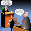 Cartoon: Not guilty (small) by toons tagged robber,jury,not,guilty,prisoner,judge,thief