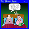 Cartoon: One night stand (small) by toons tagged long,marriage,one,night,stand,pensioners,aging