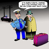 Cartoon: Open and shut case (small) by toons tagged police,luggage,suitcase,arrests,travel