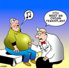 Cartoon: organ transplant (small) by toons tagged organ,transplant,heart,medical,music,piano