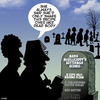 Cartoon: Over my dead body (small) by toons tagged scones,cake,recipe,gravestones,cemetary,death,favourite,cookies,cakes,sweets
