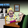 Cartoon: Part time woman (small) by toons tagged transvestite,trans,gender,homosexual,employment,gay,job,application