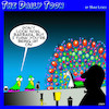 Cartoon: Peacocks (small) by toons tagged pick,up,lines,peacock,singles,bar
