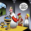 Cartoon: Pontius Pilot (small) by toons tagged pontius,pilot,easter,crucifixion