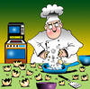 Cartoon: Russian eggs (small) by toons tagged russian,dolls,eggs,cooking,poultry,chef,cook,kitchen,utensils,food,preparation,tantrum,cakes,baking,microwave