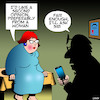 Cartoon: Second opinion (small) by toons tagged siri,search,engine,female,doctor,second,opinion
