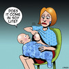 Cartoon: Soy lite (small) by toons tagged soy,milk,breastfeeding,products,baby,mothers,children