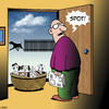 Cartoon: Spot (small) by toons tagged unwanted,pregnancy,puppies,animals,dalmations,dogs