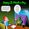 Cartoon: St Patricks day (small) by toons tagged leprechauns,ireland,st,patricks,day,accountants