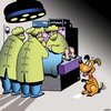 Cartoon: Table scraps (small) by toons tagged operating,theatre,hospitals,pets,food,scraps,dogs,dog,begging,doctors