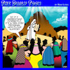 Cartoon: Ten commandments (small) by toons tagged moses,ten,commandments,carved,in,stone,step,program