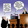 Cartoon: The camera never lies (small) by toons tagged cameras,courtroom,lawyer,judge,justice