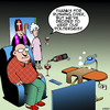 Cartoon: The Poltergeist (small) by toons tagged exorcism,poltergeist,priest,bishop,ghosts,ironing,pouring,drinks,spirits,afterlife
