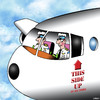 Cartoon: This side up (small) by toons tagged this,side,up,airline,pilot,handle,with,care,flying,passengers