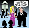 Cartoon: trophy wife (small) by toons tagged apps,trophy,wife,rich,marriage,wealth
