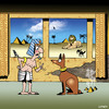 Cartoon: Tut Tut (small) by toons tagged pharoh,pyramids,egypt,egyptian,dog,poo