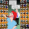 Cartoon: Wine aisle (small) by toons tagged wine,apartment,supermarket,interior,design,alcohol,rack