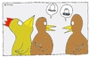 Cartoon: Eier (small) by Müller tagged eier,huhn,hühner,hahn