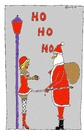Cartoon: HO HO HO (small) by Müller tagged weihnachtsmann,santa,claus,hohoho