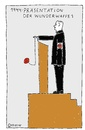 Cartoon: Wunderwaffe 1 (small) by Müller tagged wunderwaffe,hitler,nazi,deutschland,germany
