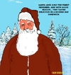 Cartoon: Santa Claus (small) by sausage factory tagged santa,reindeers,xmas,christmas,snow,color,festive,december,25