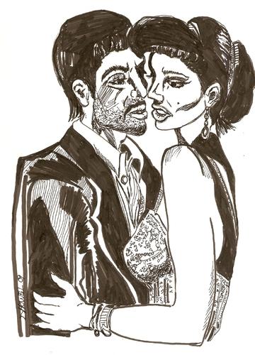 BAD ROMANCE von Toonstalk | Liebe Cartoon | TOONPOOL